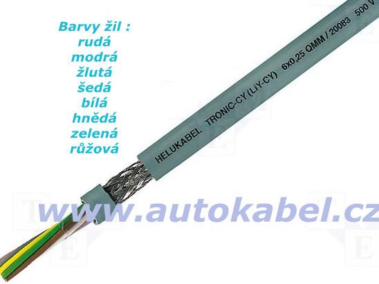 Signálové vodiče a kabely