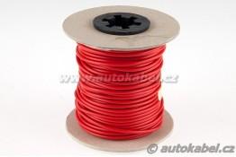 Teflonový vodič TBV 1,5 mm² - rudý