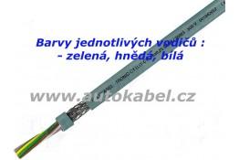 Signálový kabel 3x0,34mm²