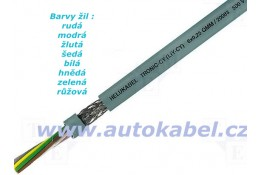 Signálový kabel 8x0,34mm²