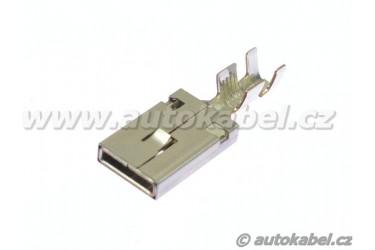 Kontakt DELPHI DUCON pro konektory FEP MAX 9,5 mm, dutinka  do 6mm², netěsněný