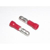 Kolík kulatý 4mm, červený