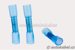 Kabelová spojka modrá - smršťovací, do 2,5 mm²