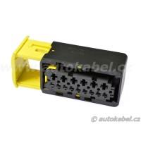 Těleso konektoru TE, MCP 15F / 6x2,8 + 9x1,5