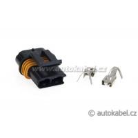 Konektor Delphi  MP630, 2 pin, dutinky, sada, typ B, 12033769.