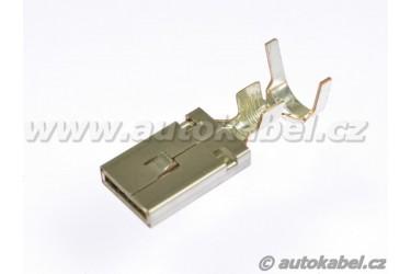 Kontakt pro konektory FEP MAX 9,5 mm, dutinka  do 6mm², lis s těsněním