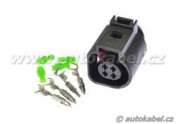 SADA konektoru FEP MPT 4FQ - s kontakty a průchodkami