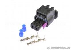 Sada konektoru MCON 2F, VW 4H0973702A + kontakty + průchodky.