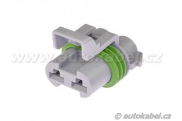 Těleso konektoru DELPHI MP630/A, 2F, 15363990