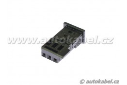 Těleso konektoru MQS mini 3F, 3 pin pro dutinky