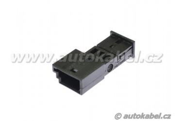 Těleso konektoru MQS mini 3M, 3 pin pro kolíky.
