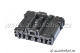 Konektor 6pin, pro zadní lampy Peugeot / Citroen