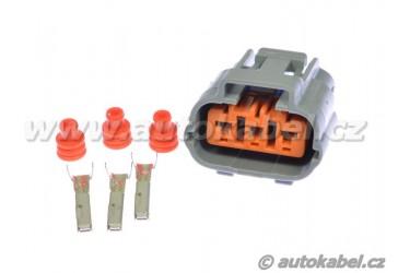 Konektor SUMITOMO 3 pin, pro zapalovací cívky, sada.