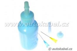 Dávkovací lahvička 50 ml pro tavidlo a kapaliny.