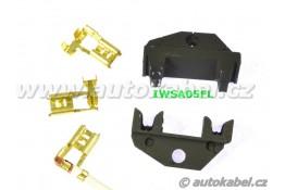 Samostatné čelisti na boční fastony 0.5 - 2.5 mm²