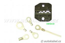 Samostatné čelisti na kabelová očka pro kleště IWSCRIMP