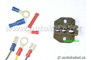 Samostatné čelisti na izolované kontakty 0.5 - 6 mm²