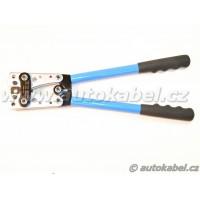 Lisovací kleště na silnoproudá kabelová oka 6 - 50 mm²