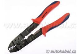 Lisovací kleště na neizolované kontakty, do 2,5mm², KNIPEX.