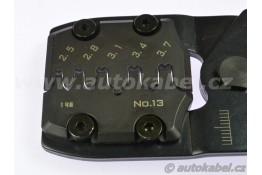 Profi krimpovací kleště na neizolované kontakty 0.5 - 6 mm², ENGINEER