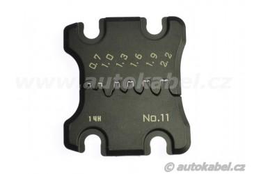 Lisovací čelisti pro kleště PAD-11 / 0.032 - 0.8 mm²