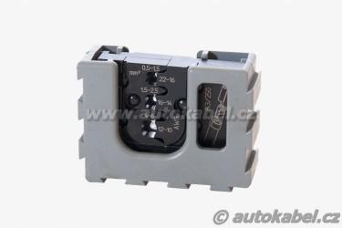Lisovací čelisti PRESSMASTER 0,5 - 6mm²