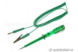 Autoelektrikářská zkoušečka 12 - 24V DC, LED