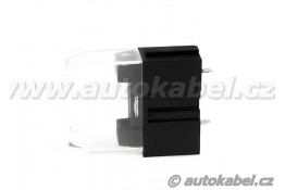 Držák autopojistky 19mm, kontakty do PCB + krytka