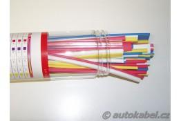 Sada barevných smršťovacích bužírek 80ks